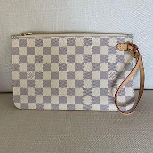 Louis Vuitton Damier Azur Pouch